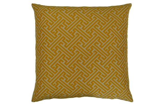 Greek Key Pillow - 2