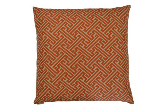 Greek Key Pillow - 1