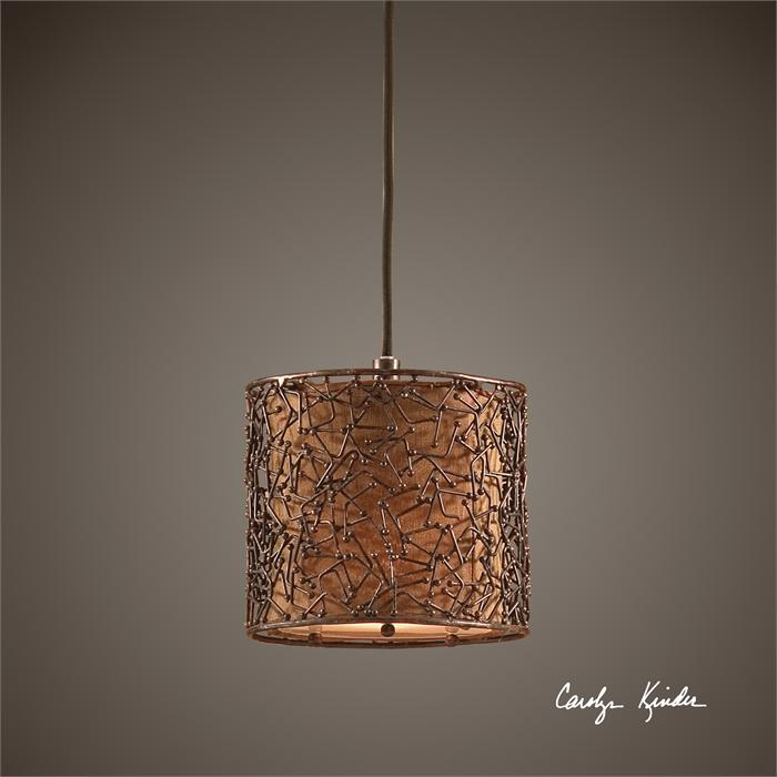 1 lt Brown Pendant