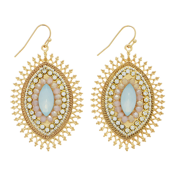 Earring Drops - Pale Blue