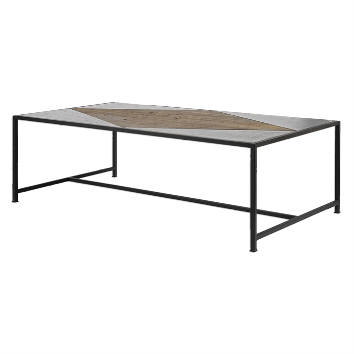 Black Iron Coffee Table