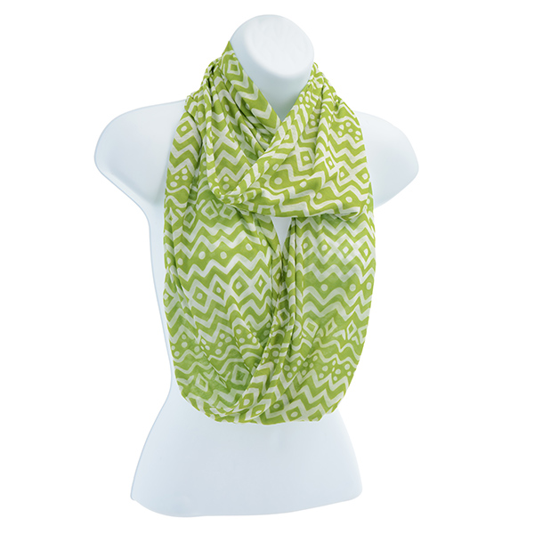 Infinity Scarf - Lime