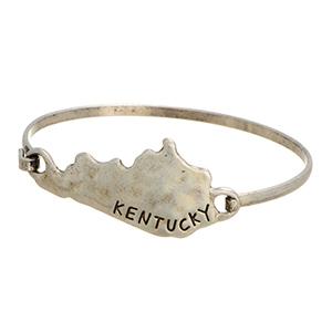 Kentucky Bracelet - Silver Tone