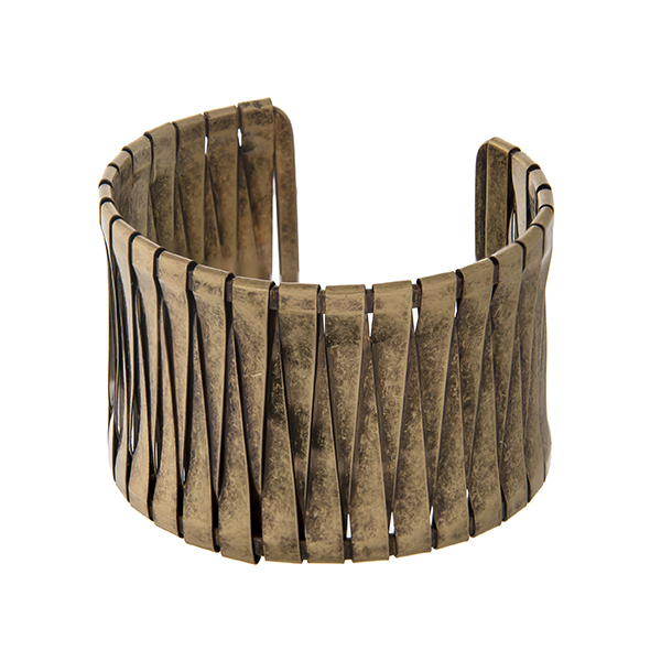 Burnished Gold Cuff