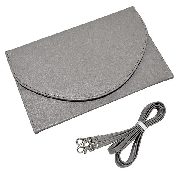 Envelope Clutch - Grey
