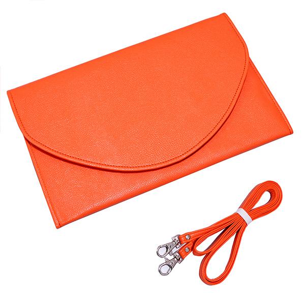 Envelope Clutch - Orange