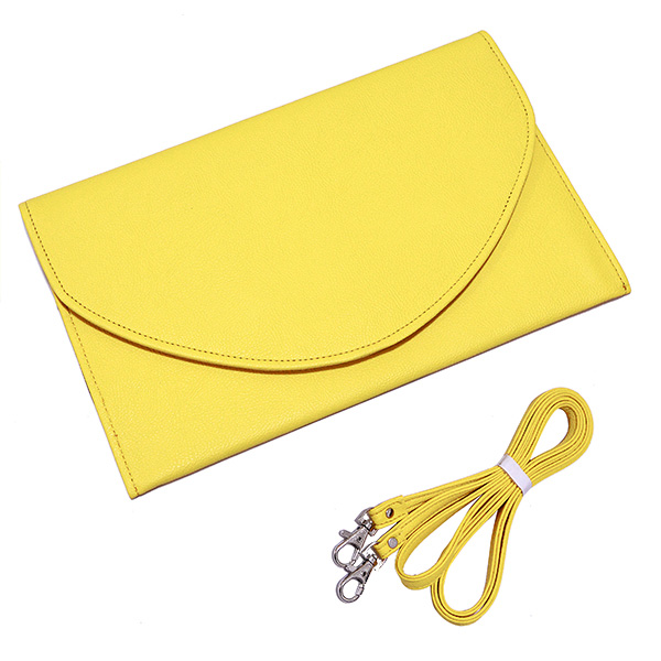 Envelope Clutch - Yellow