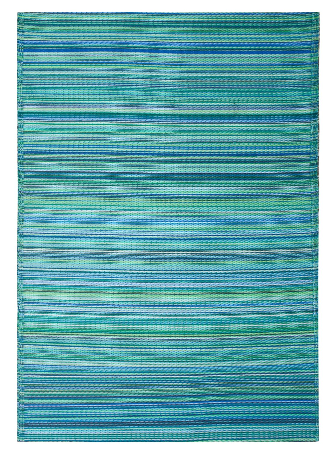 4x6 Turquoise Outdoor Rug