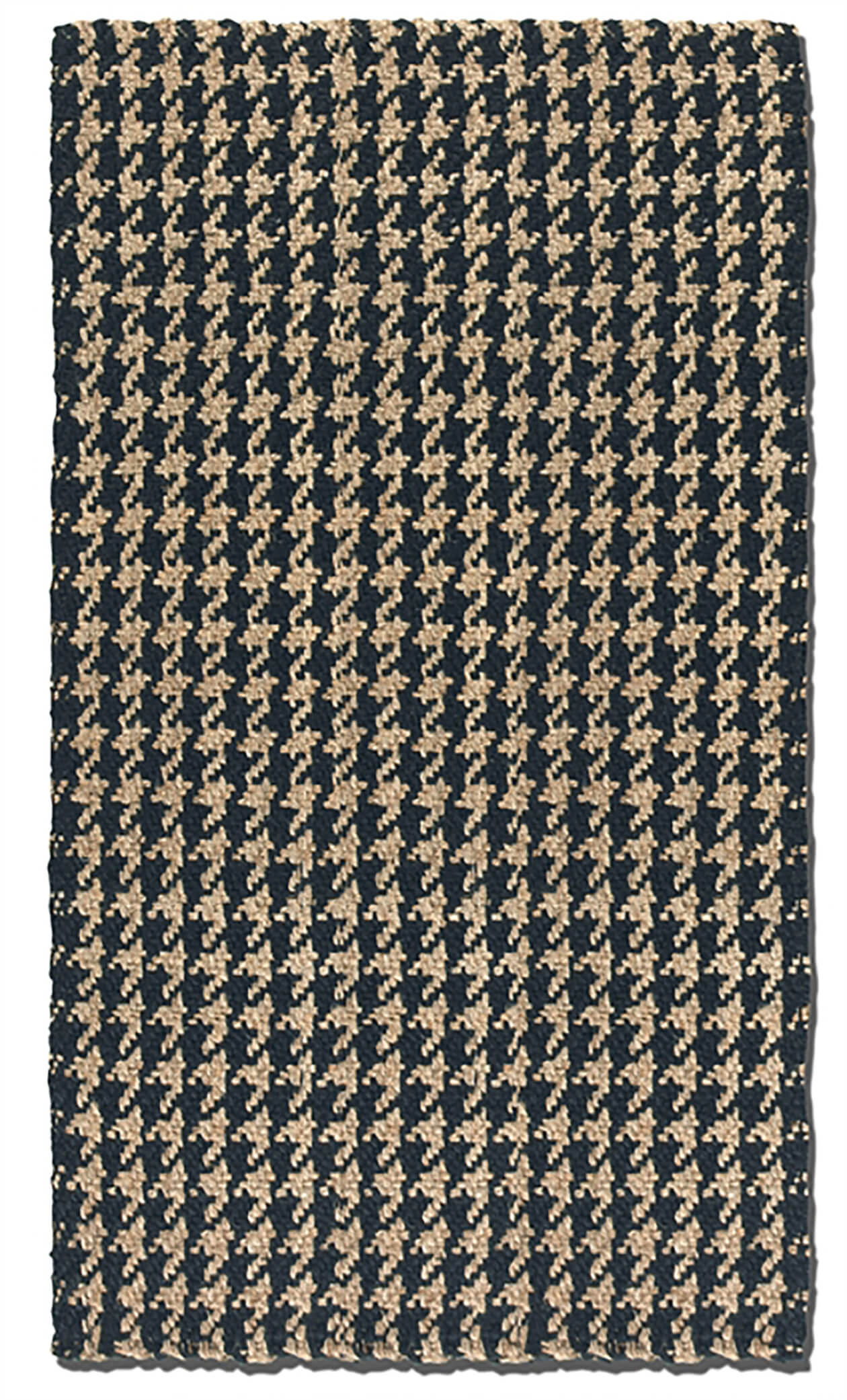 8x10 Hounds-tooth Patterned Rug
