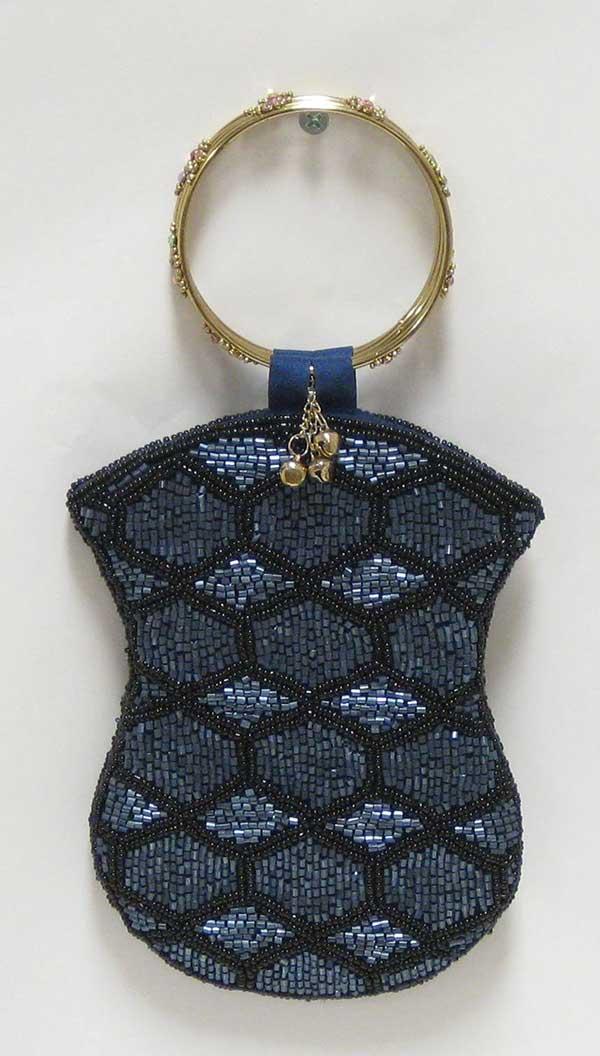 Mobile Bag - Black & Blue