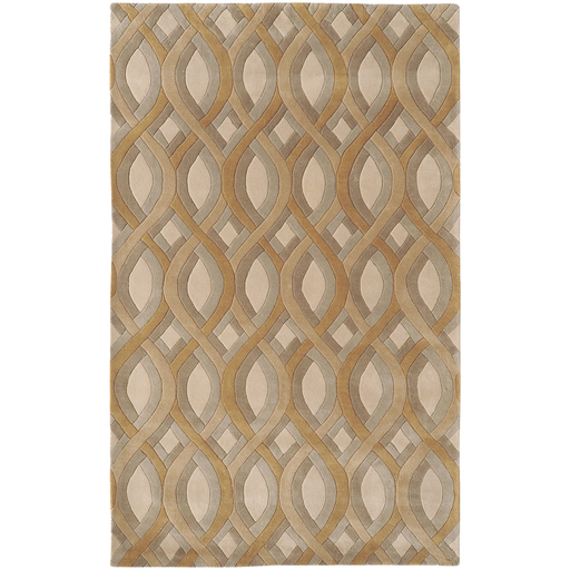 8x11 Beige/Tan Twist Rug