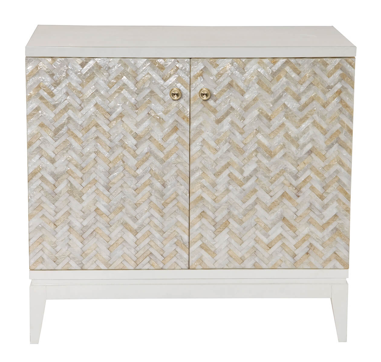Capiz Shell Door Chest
