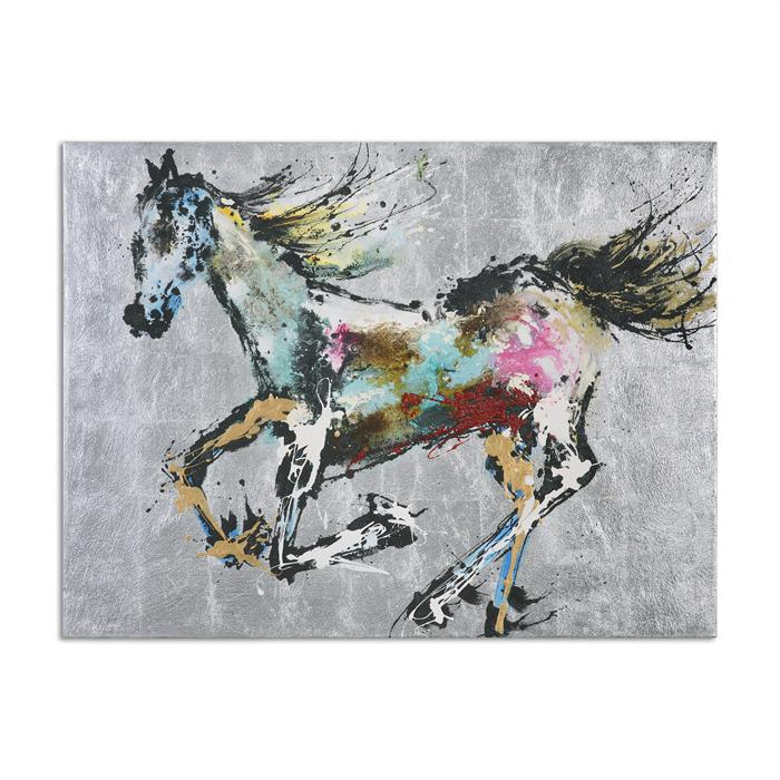 Colorful Horse Artwork