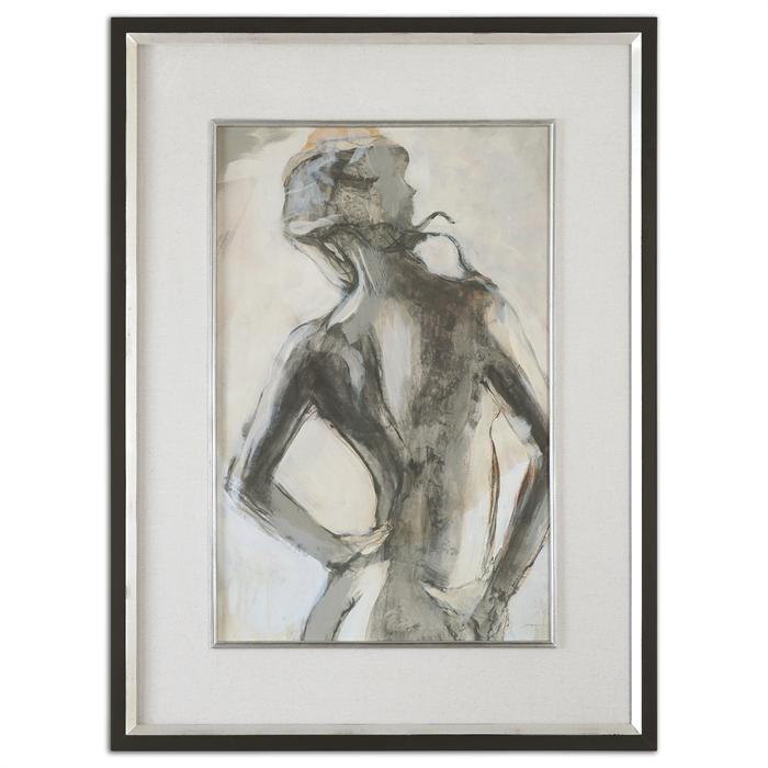 Black & White Silhouette Print