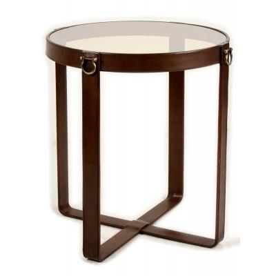 Leather Belts Table