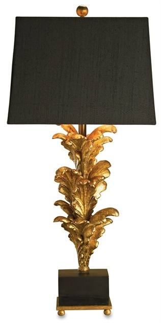 Acanthus Leaves Table Lamp