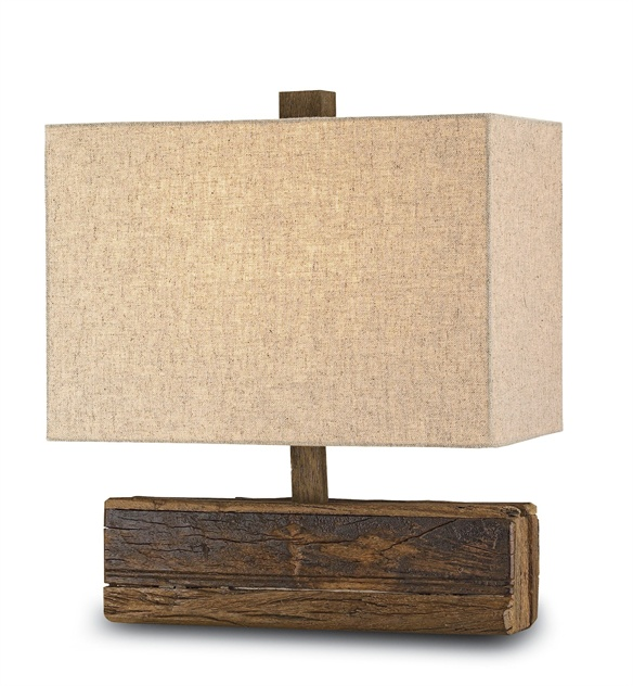 Petite Wood Table Lamp