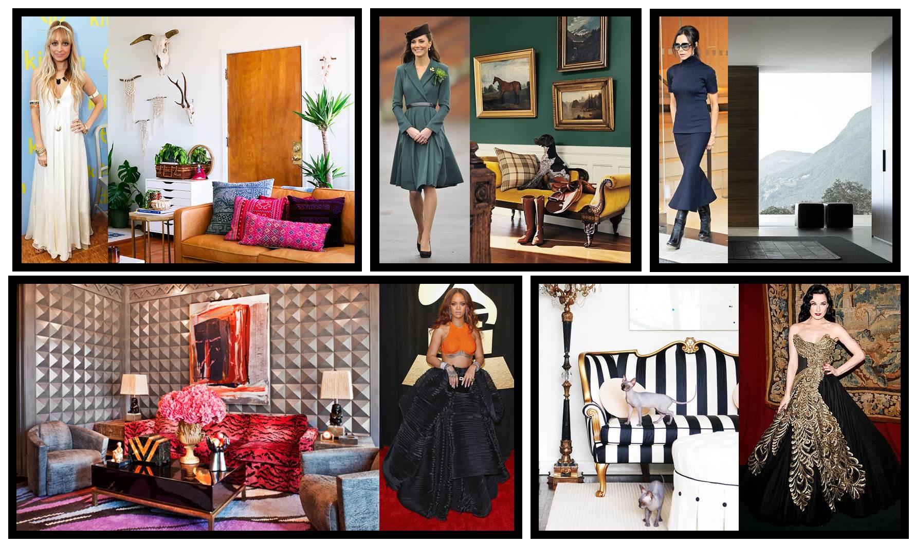Fashion Inspired Interiors